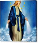 Virgen Milagrosa Canvas Print