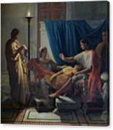 Virgil Reading The Aeneid Canvas Print