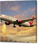 Virgin Atlantic Boeing 787 Dreamliner Canvas Print