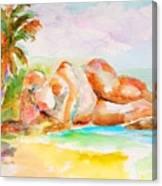 Virgin Cove Canvas Print