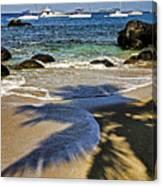 Virgin Gorda Beach Canvas Print