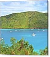 Virgin Island Getaway Canvas Print