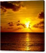 Virgin Islands Sunset Canvas Print