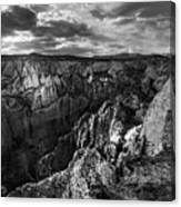 Virgin River Canyon, Zion National Park Canvas Print