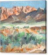 Virgin River Gorge Canvas Print