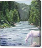Virgin River Canvas Print