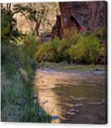 Virgin River Reflection Canvas Print