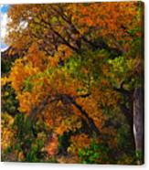 Virgin River Triptych Right Panel Canvas Print