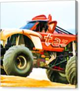 Virginia Beach Monster Truck Rally Canvas Print