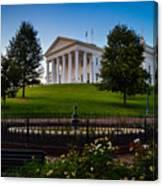 Virginia Capitol Building Canvas Print