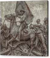 Virginia Monument Gettysburg Battlefield Canvas Print