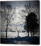 Virginia Snow Canvas Print