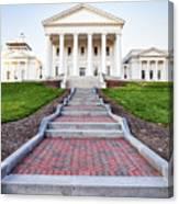 Virginia State Capitol Building Canvas Print