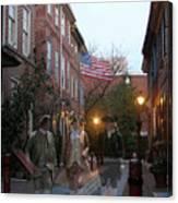 Virginians In Philadelphia Canvas Print