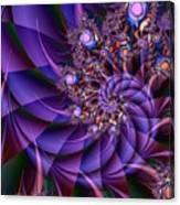 Virginias Violet Canvas Print