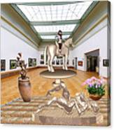 Virtual Exhibition - Girs 31 Canvas Print
