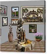 Virtual Exhibition - Source 34 Canvas Print