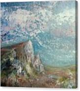 Virtual Mountain Canvas Print