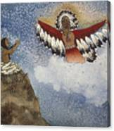 Vision Of The Eagle Spirit Canvas Print