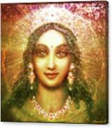 Vision Of The Goddess  Canvas Print