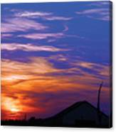 Visionary Sunset Canvas Print