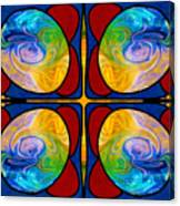 Visions Of Bliss And Abstract Artwork By Omaste Witkowski Canvas Print