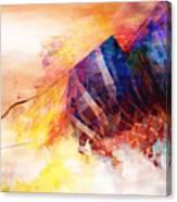 Visions Of Hiranyaloka Revisited Canvas Print