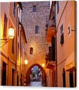 Visions Of Italy Archway Canvas Print
