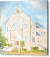 Visitation Monastery Mobile Alabama Canvas Print