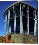 Visitor Center Atop Mt. Wellington Canvas Print