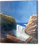 Vista Del Difunto Canvas Print
