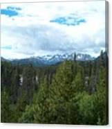 Vistas Along the Alcan Canvas Print
