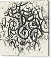 Visual Noise Canvas Print