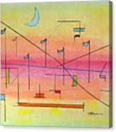 Visualization Canvas Print