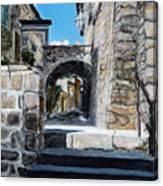 Viterbo Archway Canvas Print