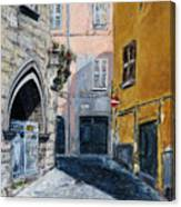 Viterbo Church Canvas Print