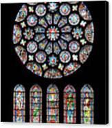 Vitraux - Cathedrale De Chartres - France Canvas Print