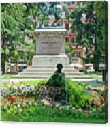 Vittorio Emanuele II Statue Canvas Print