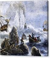 Vitus Jonassen Bering Canvas Print