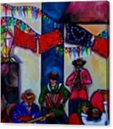 Viva La Musica Canvas Print