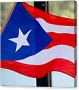 Viva Puerto Rico Canvas Print