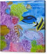 Corals Calling  Canvas Print