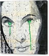 Vivien . Canvas Print
