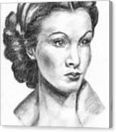 Vivien Leigh Canvas Print