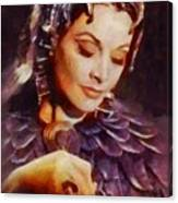 Vivien Leigh, Vintage Hollywood Actress Canvas Print
