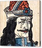 Vlad IIi (1431-1477) Canvas Print