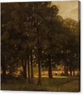 Vladimir Donatovich Orlovsky  Russian 1842  1914 Summer Landscape Canvas Print