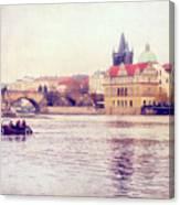 Vltava Ride Canvas Print
