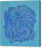 Voilet Spiral Canvas Print