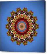 Voladores Kaleidoscope 3 Canvas Print